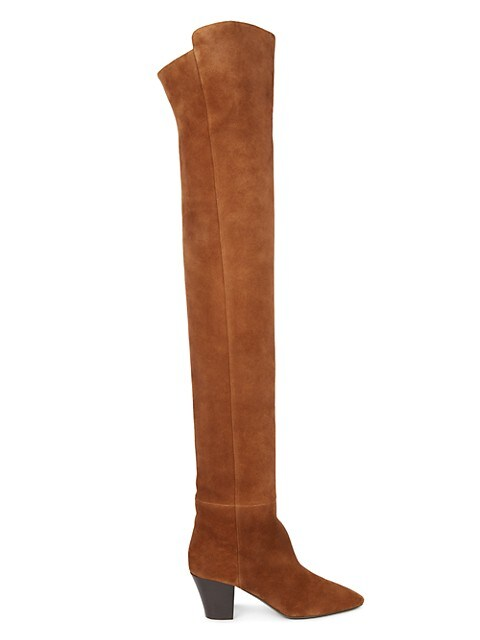 Sun Over-The-Knee Suede Boots