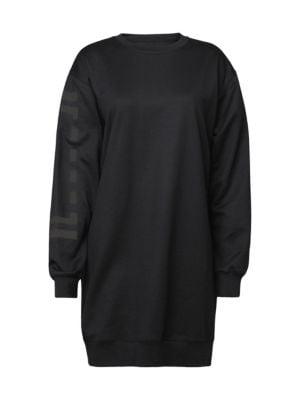 Wolford Logo Sweatshirt Dress