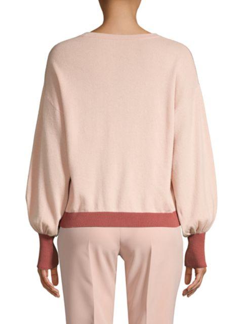 Seventy Bi-Color Wool & Cashmere Sweater   SaksFifthAvenue