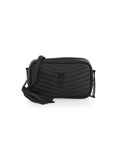 Mini Lou Matelassé Leather Camera Bag