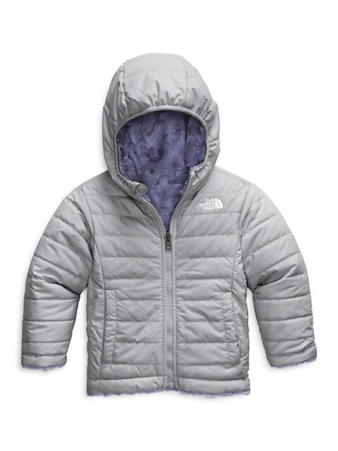 The North Face Little Girls Mossbud Swirl Reversible Jacket