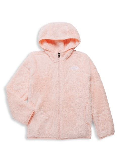 The North Face Little Girls & Girls Faux Fur Hoodie