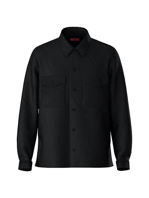 Enalu Woven Button-Down Shirt
