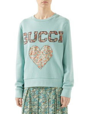 GUCCI Gucci Liberty Sweatshirt With Patches