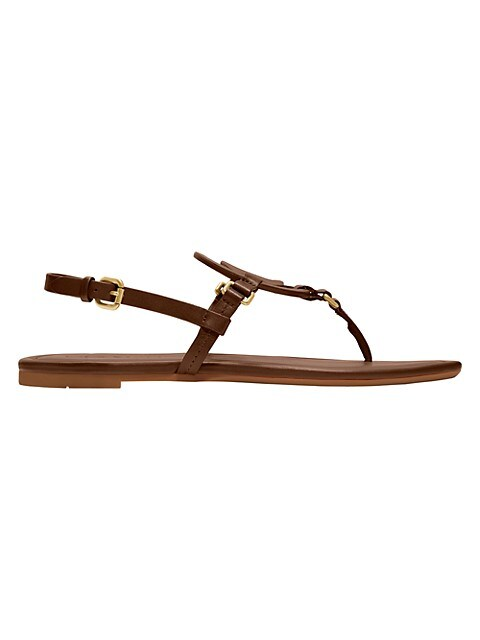 Jeri Leather Thong Sandals