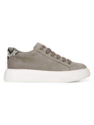 Vince Rhea Suede Platform Sneakers