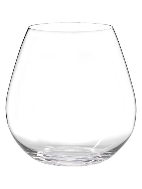 O Wine 2-Piece Pinot Noir Wine Glass Set