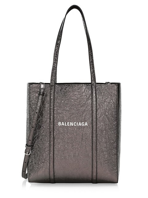 Extra-Small Everyday Metallic Leather Tote