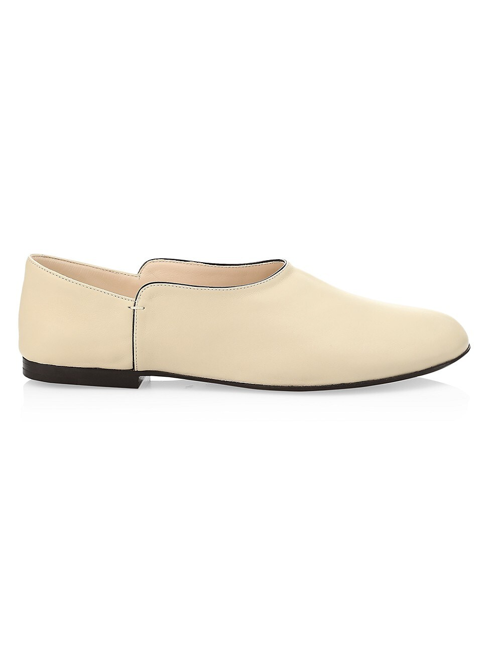 The Row WOMEN'S BOHEME LEATHER SLIPPERS