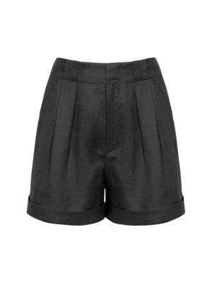 Equipment Boyde Linen Shorts