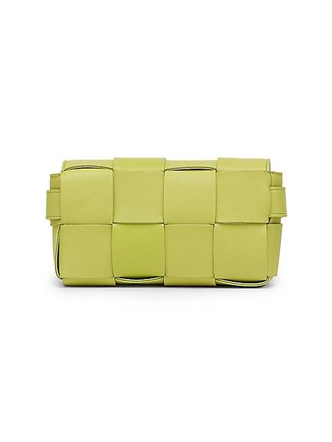The Cassette Leather Belt Bag