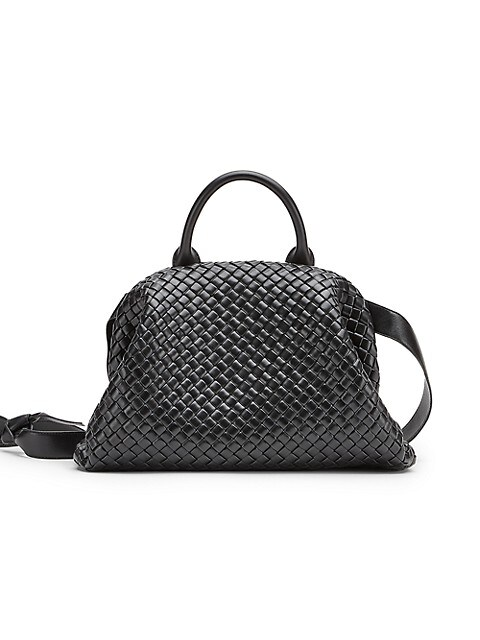 Intrecatto Padded Leather Tote Bag