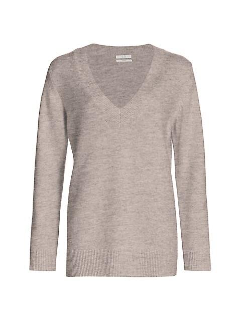 Essentials Cashmere V-Neck Knit Sweater