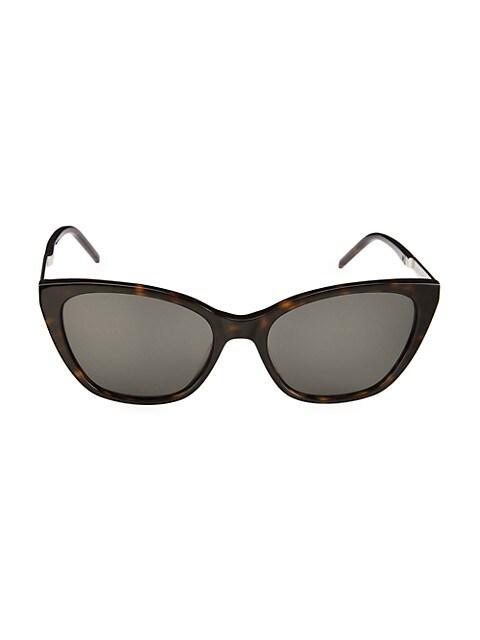 Monogram 56MM Cat Eye Sunglasses