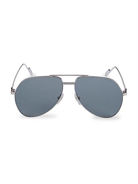 Core Range 58MM Aviator Sunglasses