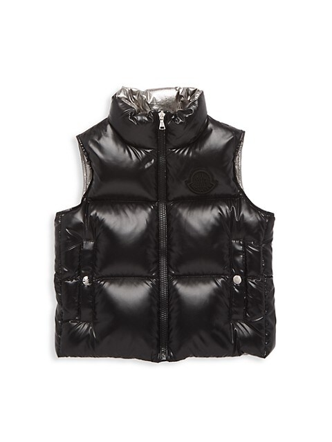 Little Boy's & Boy's Arkell Quilted Down Vest