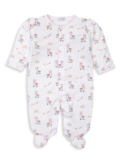 Kissy Kissy Unisex-Baby Infant Here Comes Santa Claus Print Convertible Gown