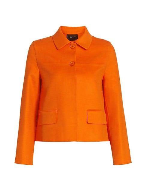 Maureen Double-Faced Cashmere Short Jacket