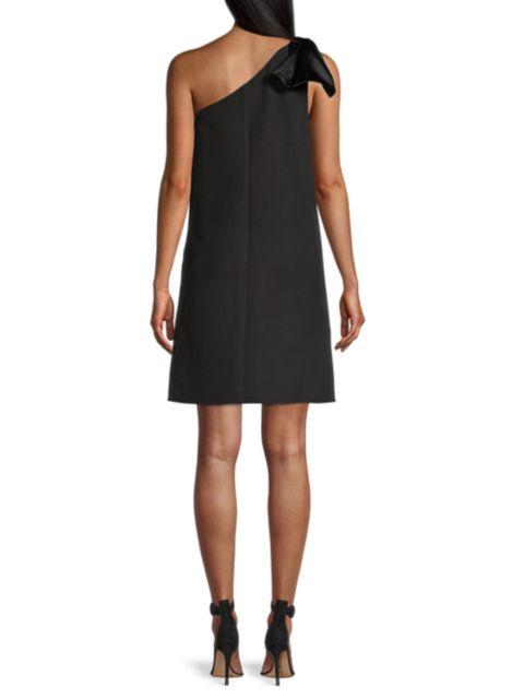 Aidan Mattox One-Shoulder Trapeze Dress | SaksFifthAvenue