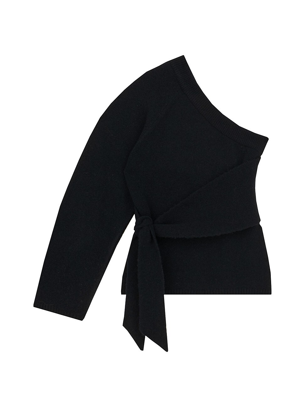 Nanushka Sweaters WOMEN'S CLETO ONE-SLEEVE ASYMMETRIC SWEATER