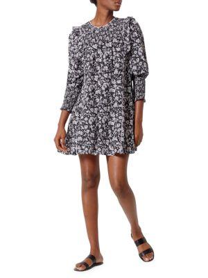 Joie Jamila Floral Print Shift Dress