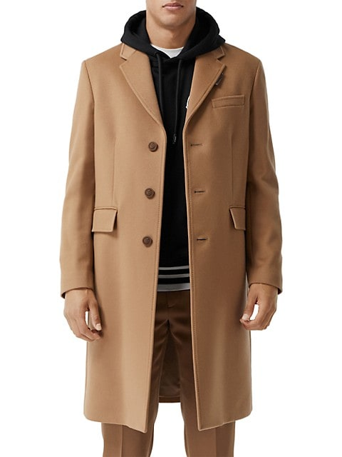Hawkhurst Virgin Wool & Cashmere Coat