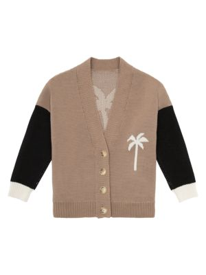 Palm Angels PXP Virgin Wool Cardigan