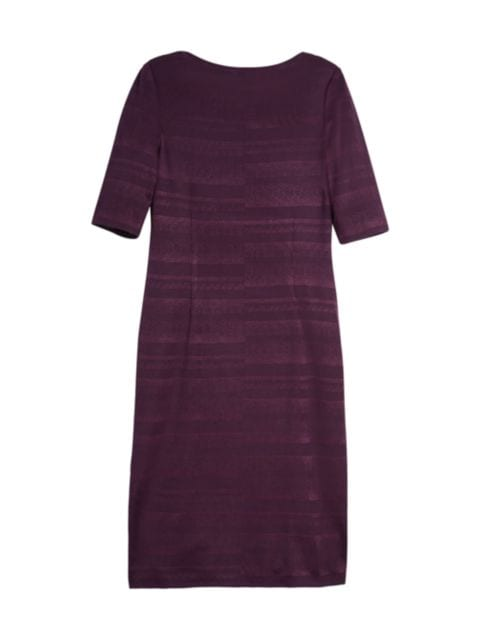 Misook Textured Knit Midi Dress   SaksFifthAvenue