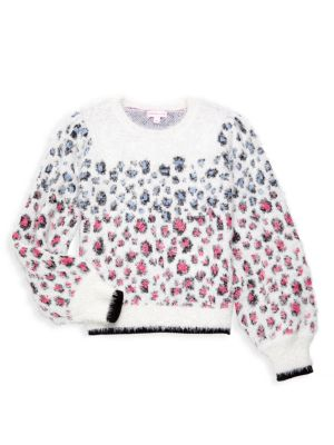 Paris Boys Girls Pullover Sweaters Crewneck Sweatshirts Clothes for 2-6 Years Old Children