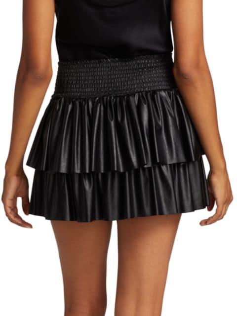Ramy Brook Maryjo Faux-Leather Skirt   SaksFifthAvenue