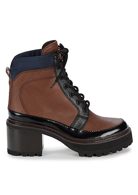 Hayden Lug-Sole Leather Hiking Boots