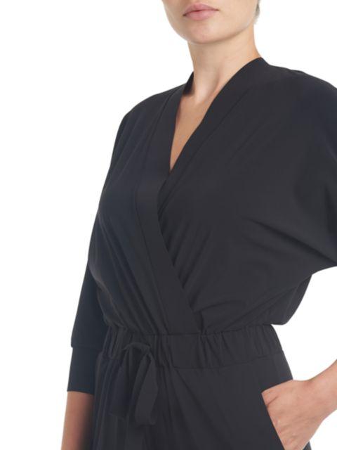 Chiara Boni La Petite Robe Hildur Jersey Long Sleeve Jumpsuit | SaksFifthAvenue