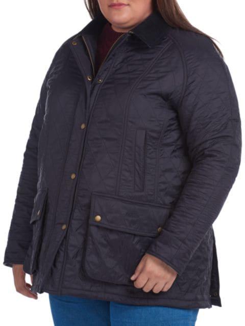 Barbour, Plus Size Beadnell Polarquilt Jacket   SaksFifthAvenue