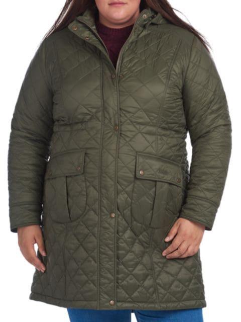 Barbour, Plus Size Jenkins Quilted Jacket   | SaksFifthAvenue