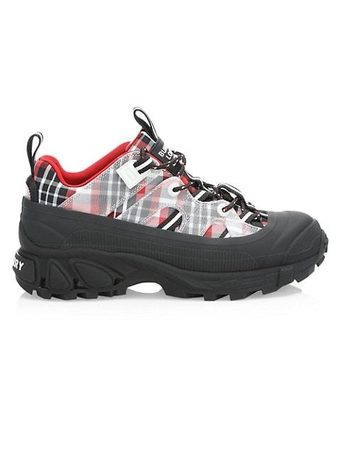 Arthur Tartan Chunky Sneakers