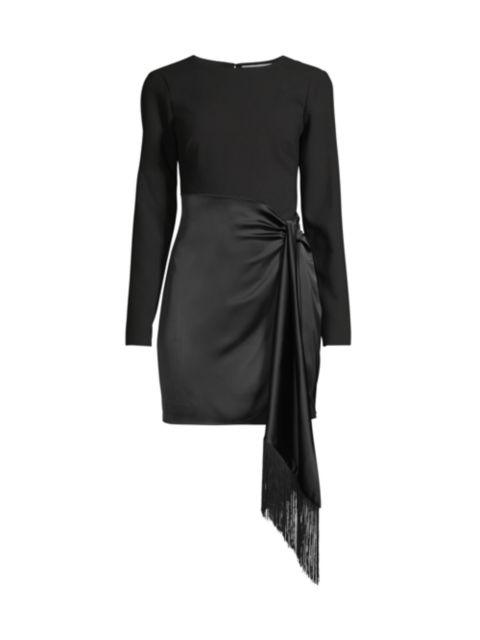 Likely Yoko Draped Knit Dress   SaksFifthAvenue