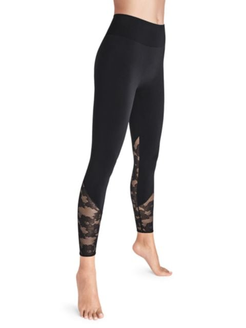 Wolford Perfect Fit Lace Leggings | SaksFifthAvenue