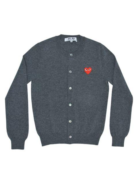 Comme des Garcons Play Heart Wool Cardigan | SaksFifthAvenue