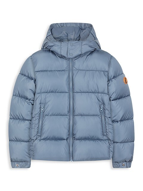 Little Kid's & Kid's Hooded Mega Coat