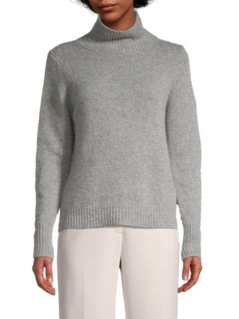 Seventy Cashmere & Wool-Blend Knit Sweater | SaksFifthAvenue