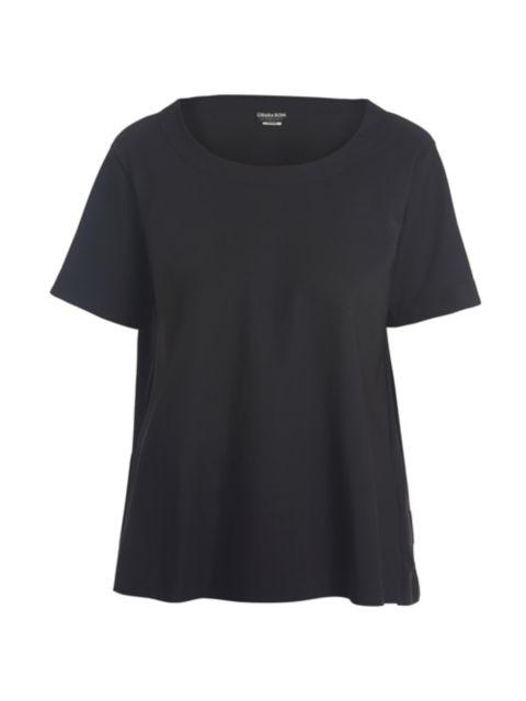 Chiara Boni La Petite Robe Orizia Scoopneck T-Shirt   SaksFifthAvenue