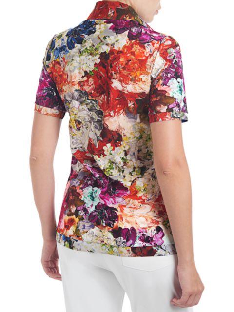 Chiara Boni La Petite Robe Sacha Floral Button-Front Shirt | SaksFifthAvenue