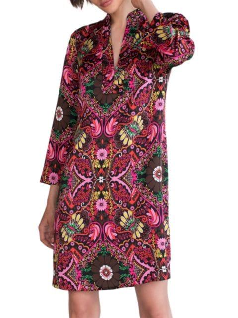 Trina Turk Christie Tapestry Print Dress | SaksFifthAvenue