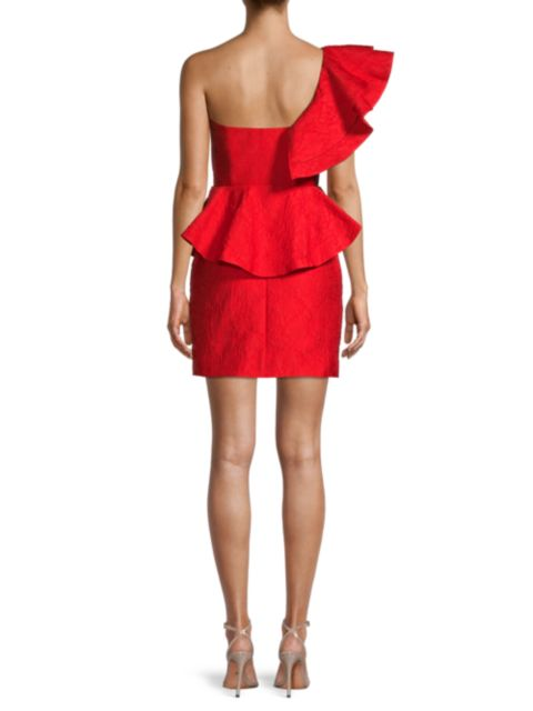 Mestiza New York Rosita One-Shoulder Mini Dress   SaksFifthAvenue