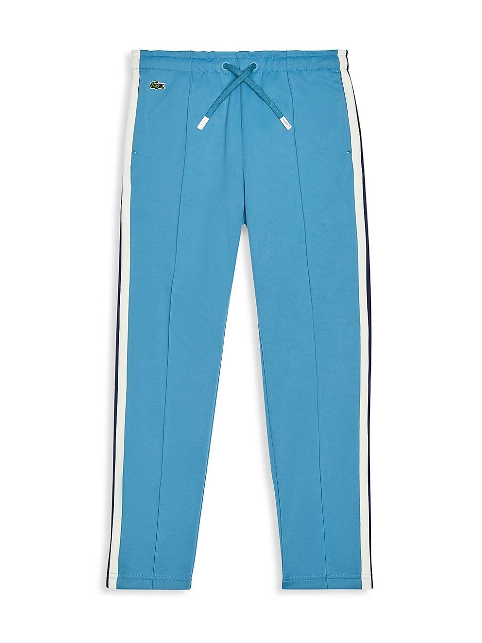 Lacoste Cottons LITTLE BOY'S & BOY'S SIDE-STRIPE INTERLOCK TRACK PANTS