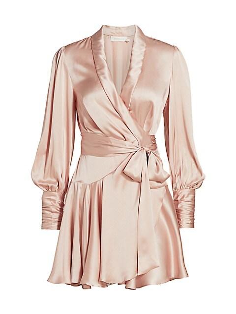 Ladybeetle Silk Wrap Dress