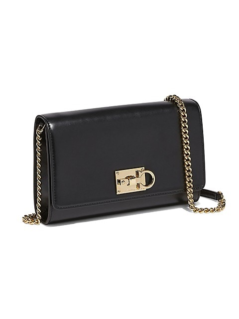 Mini Studio Leather Crossbody Bag