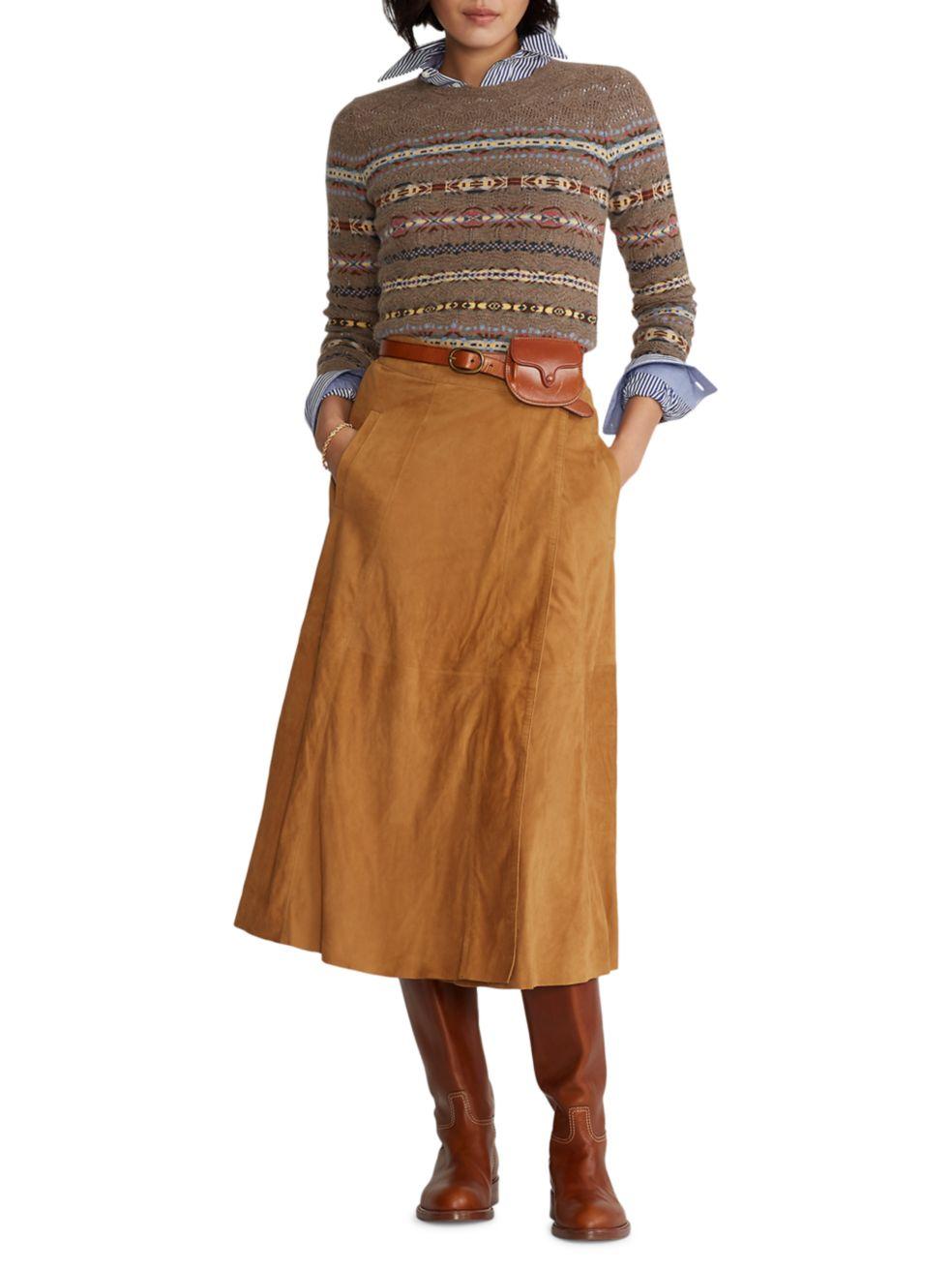 Polo Ralph Lauren Multi-Stripe Knit Sweater | SaksFifthAvenue