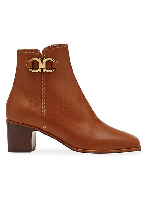 Cassaro Leather Ankle Boots