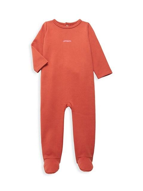 Baby Girl's Amour Pajama Coverall